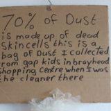 Dust Close Up